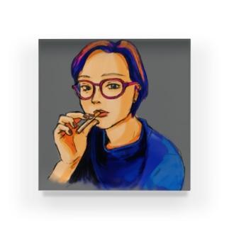 cigar-4 Acrylic Block