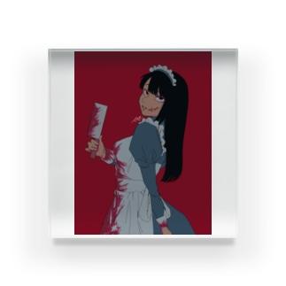 不穏なメイド喫茶~センパイver~ Acrylic Block