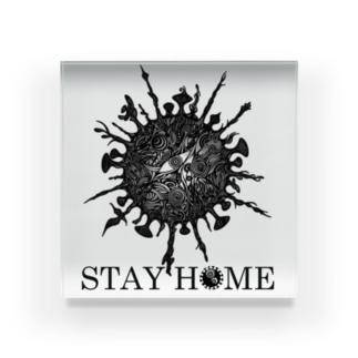 STAY HOME -月蝕因子- Acrylic Block