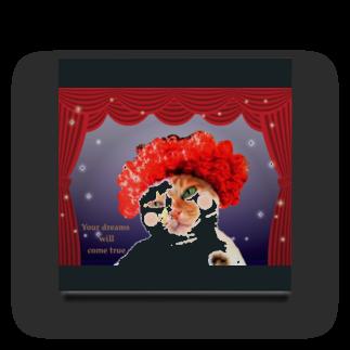 錆猫の館のミュージカルな三毛猫さん♪ Acrylic Block
