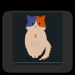 おもち屋さんのおすまし猫(3) Acrylic Block