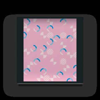 Aoちゃんのピンクいテクスチャ Acrylic Block