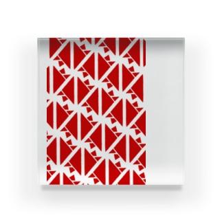 サーヴィエ行進曲 紅 Acrylic Block