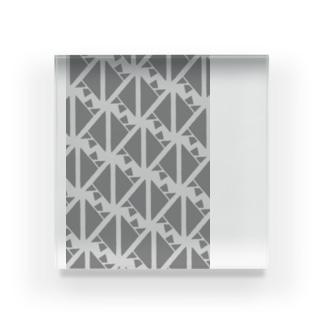 サーヴィエ行進曲 燻銀 Acrylic Block