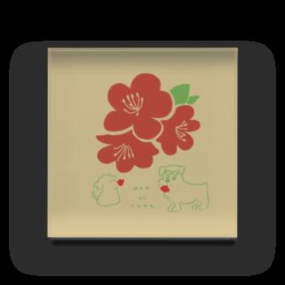 ととめめ/ totomemeのととめめ本日のお花:4月22日 Acrylic Block