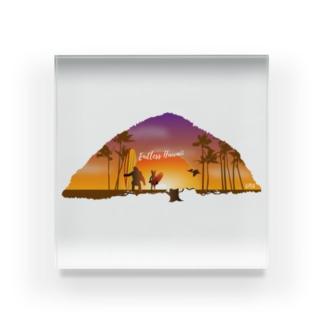 Endless Hawaii Acrylic Block