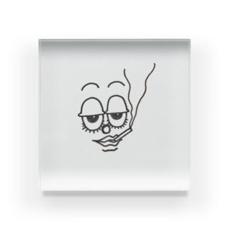 野間 真乃介のセニョール Acrylic Block
