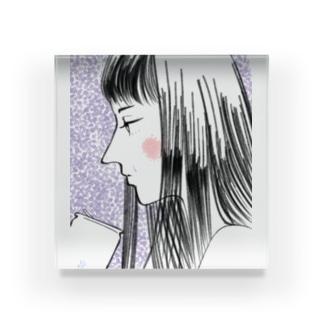 失恋子 Acrylic Block