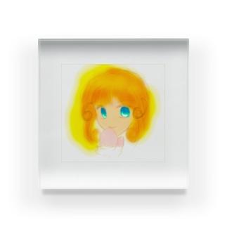 WinterGirl Acrylic Block