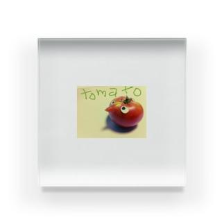 トマトさん Acrylic Block