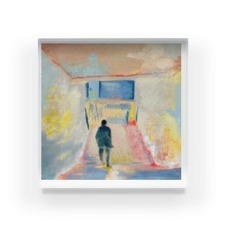 ふるやみかのNakazakicho-Subway Acrylic Block