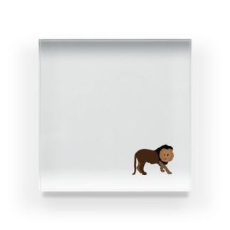 ライオン Acrylic Block