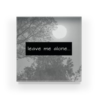 message Acrylic Block