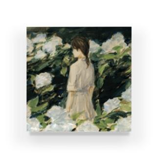 移り気な白 Acrylic Block