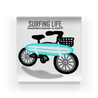 SURFING LIFE Acrylic Block