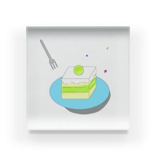 メロンケーキ休憩 Acrylic Block