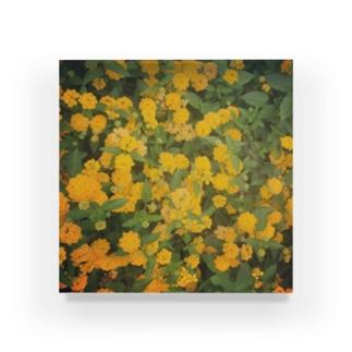 黄色い花 Acrylic Block