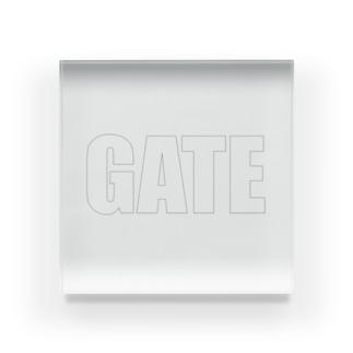 GATE Acrylic Block