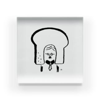 食パンおじさん Acrylic Block