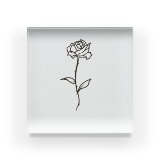 SAN4.のThe Rose Acrylic Block