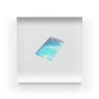 プール Acrylic Block