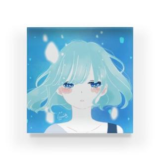 おやすみ Acrylic Block
