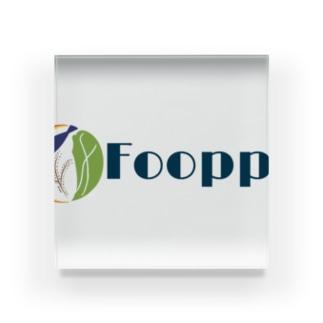 Fooppy Acrylic Block