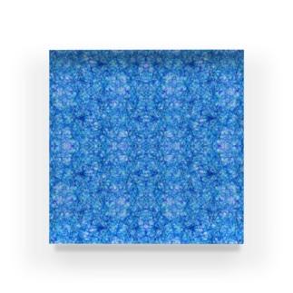 青いの Acrylic Block