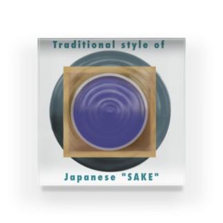 日本酒 Acrylic Block