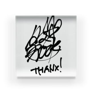 タマ⭐︎ロック サイン Acrylic Block
