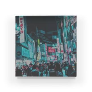 なう渋谷わず Acrylic Block