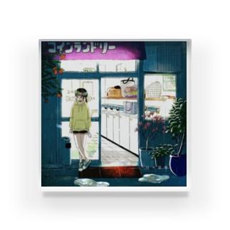 「日々哀楽」 Acrylic Block