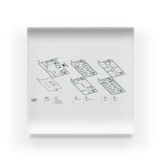 kaganhotel floor guide goods Acrylic Block
