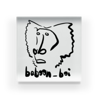 baboon_boi Acrylic Block