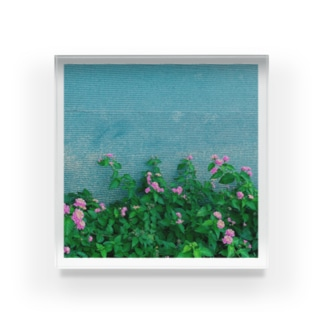 "My Clips ""Beach in Okinawa"" Acrylic Block"