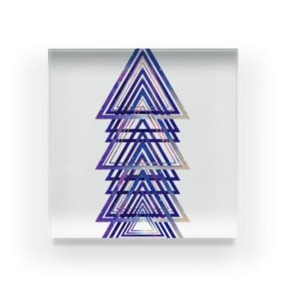 宇宙トライアングル Acrylic Block