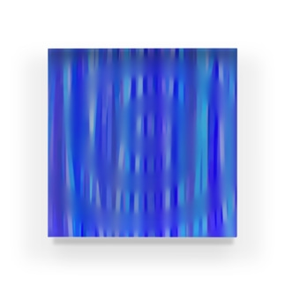 雨の波紋 Acrylic Block
