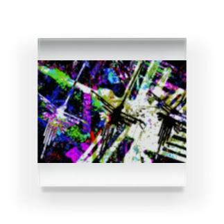 DRハチドリ Acrylic Block