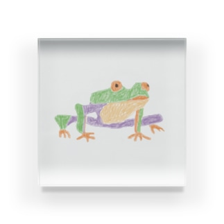 カエル Acrylic Block