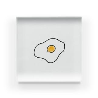 目玉焼き Acrylic Block