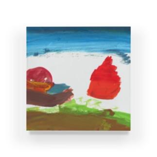 朝日 Acrylic Block