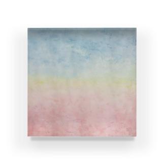 夢の中の地平線 Acrylic Block