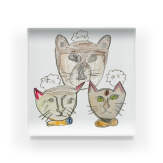 -犬猫猫- Acrylic Block