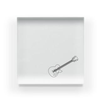 ギター Acrylic Block