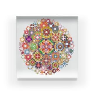 SAIHATE MANDALA Acrylic Block