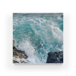 午後の津波 Acrylic Block