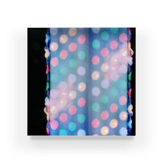 HIROHASHI SACHIのあめ色ドット02 Acrylic Block