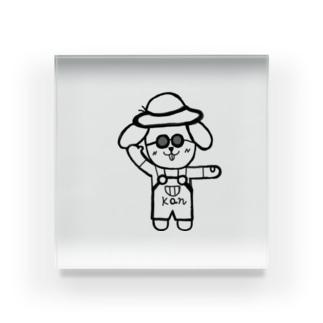 aikuのごきげんかんちゃん Acrylic Block
