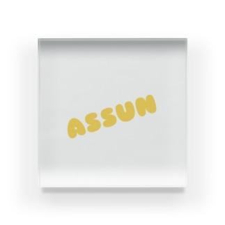 Assun Acrylic Block