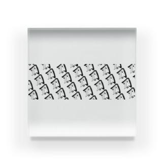 ダンディ・カタナ Acrylic Block